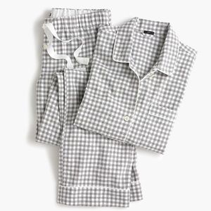 J.Crew Vintage Pajamas in Flannel Gingham